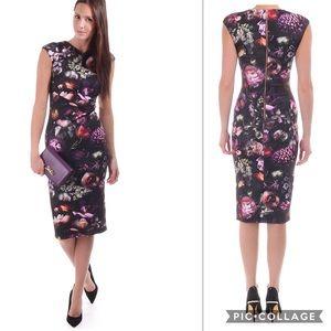 Ted Baker Shadow Floral dress NWOT
